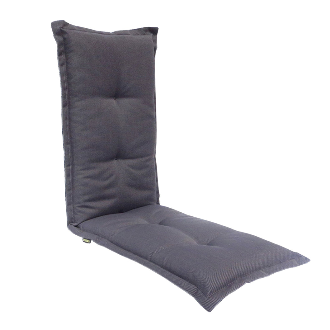 Royale Outdoor Bench Cushion 120cm - Black Grey