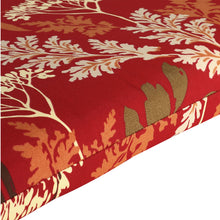 St Barts Outdoor Bench Cushion 120cm - Red Floral