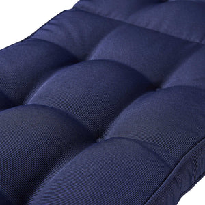 Cabana Outdoor Bench Cushion 145cm - Navy Blue
