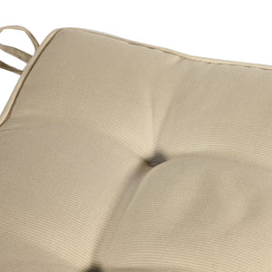 Cabana Outdoor Seat Pad Cushion - Sandstone (Set of 4)