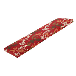 Bossima St Barts Outdoor Bench Cushion 120cm - Red Floral