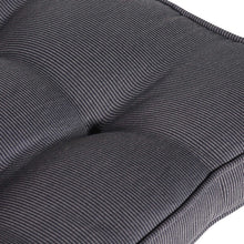 Cabana Outdoor Bench Cushion 120cm - Black Grey