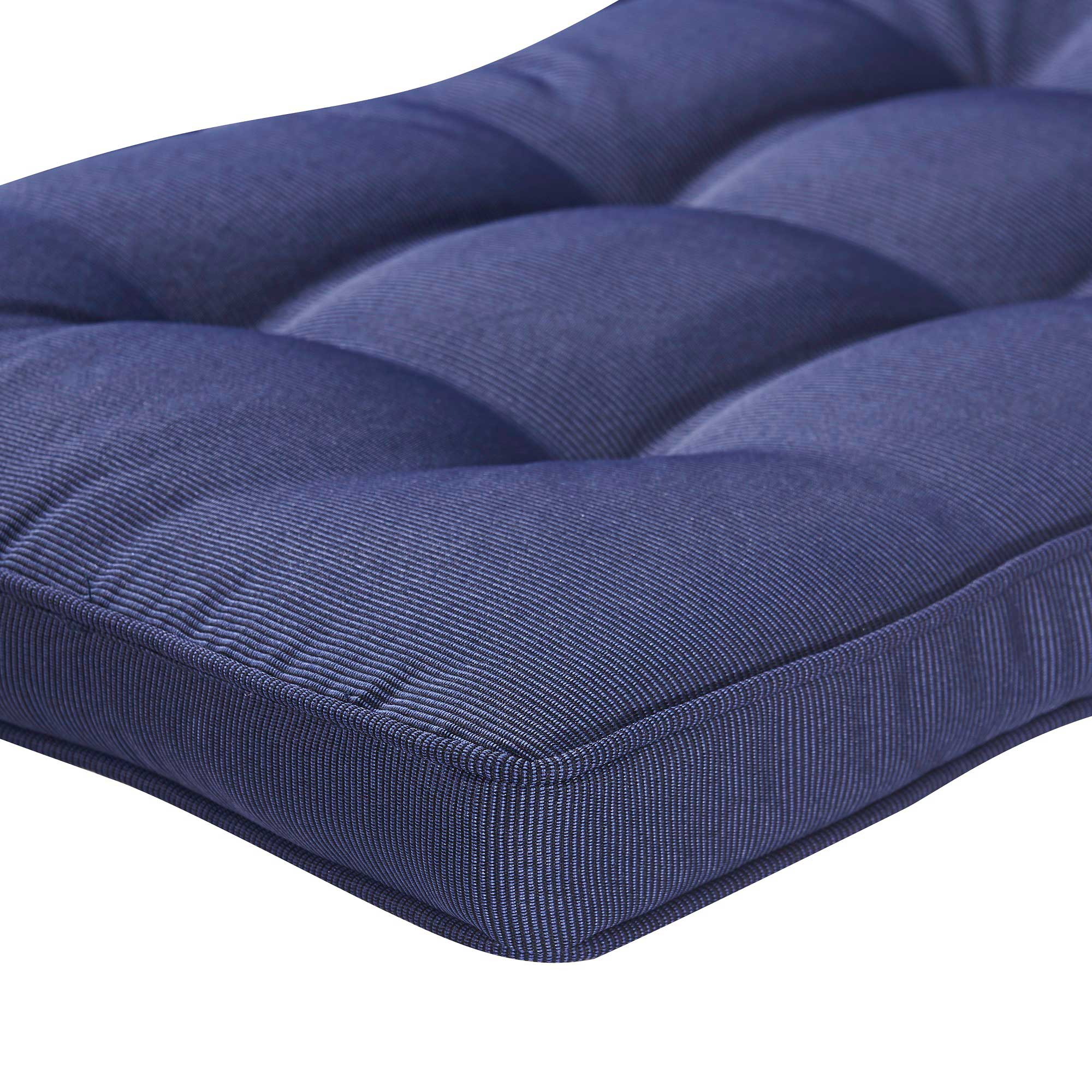 glam garden shipping and safavieh tufted overstock home rory navy bench white free today product