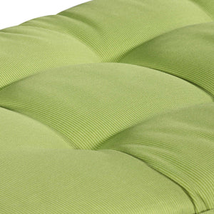 Cabana Outdoor Sun Bed Cushion with Pillow - Kiwi Green