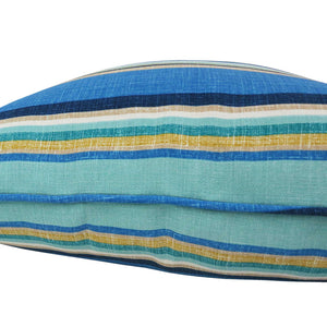 Blue Striped Outdoor Waterproof Scatter Cushion Seats