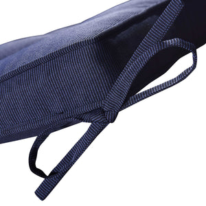 Cabana Outdoor Seat Pad Cushion - Navy Blue (Set of 4)