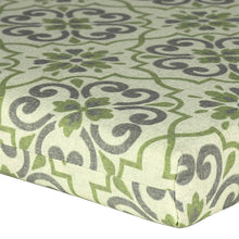 Bossima Outdoor Seat Pads - Green Pattern