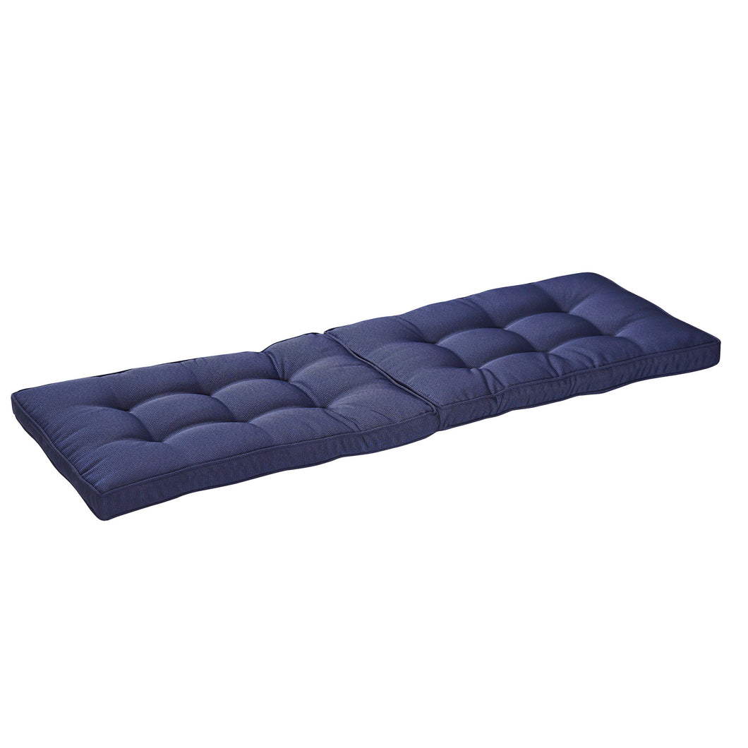 Bossima Cabana Outdoor Bench Cushion Online 120cm Online - Navy Blue