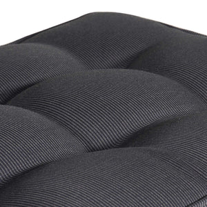 Cabana Outdoor Bench Cushion 145cm - Black Grey