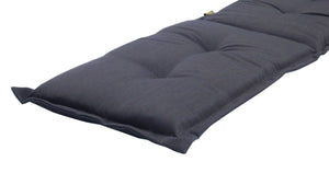 Royale Outdoor Bench Cushion 145cm - Black Grey