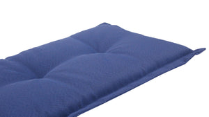 Royale Outdoor Bench Cushion 120cm - Navy Blue