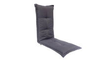 Bossima Royale Outdoor Bench Cushion 145cm Black Grey