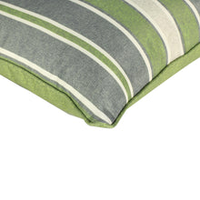 Buy Green Stripes Outdoor Scatter Cushion Pad