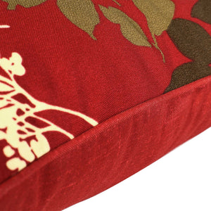 Buy Online Outdoor Seat Pillow - Red Floral