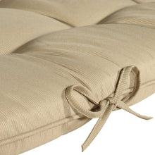 Cabana Outdoor Sun Bed Cushion with Pillow - Sandstone