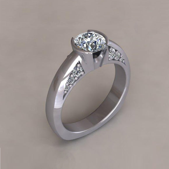 ENGAGEMENT RING - MODERN M131
