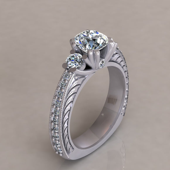 ENGAGEMENT RING - ANTIQUE 104