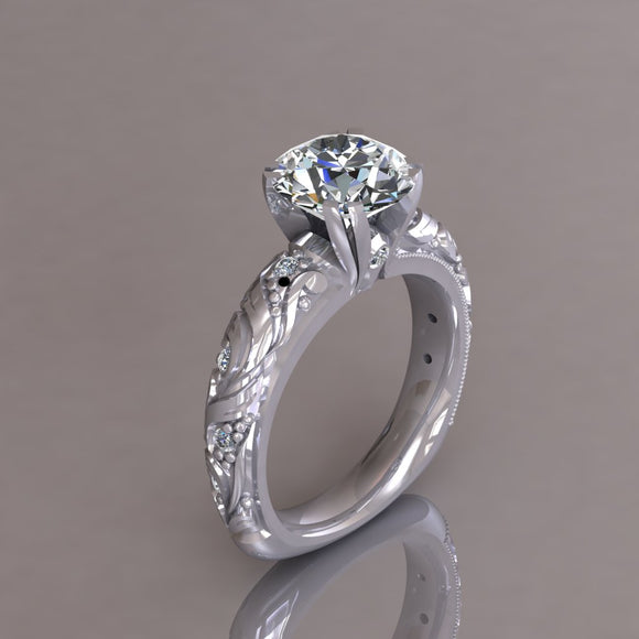 ENGAGEMENT RING - ANTIQUE 105