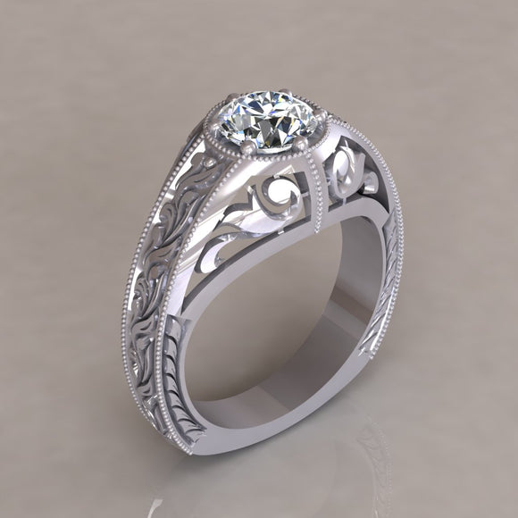 ENGAGEMENT RING - ANTIQUE 111