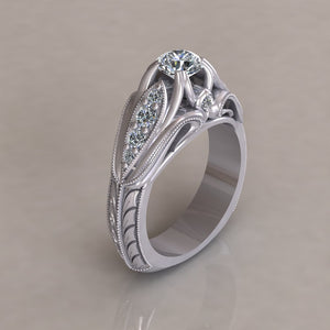 ENGAGEMENT RING - ANTIQUE 114