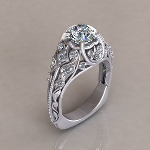ENGAGEMENT RING - ANTIQUE 116