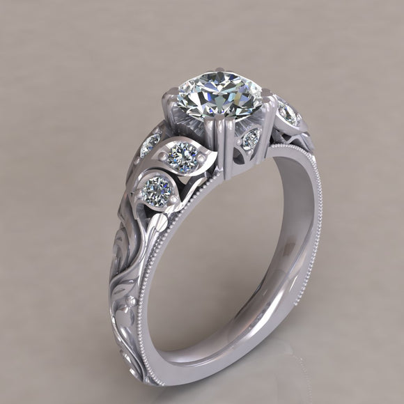 ENGAGEMENT RING - ANTIQUE 201