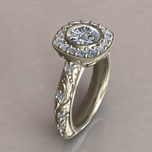 ENGAGEMENT RING - ANTIQUE 301