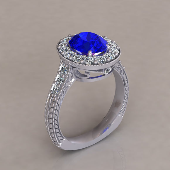 ENGAGEMENT RING - ANTIQUE 302
