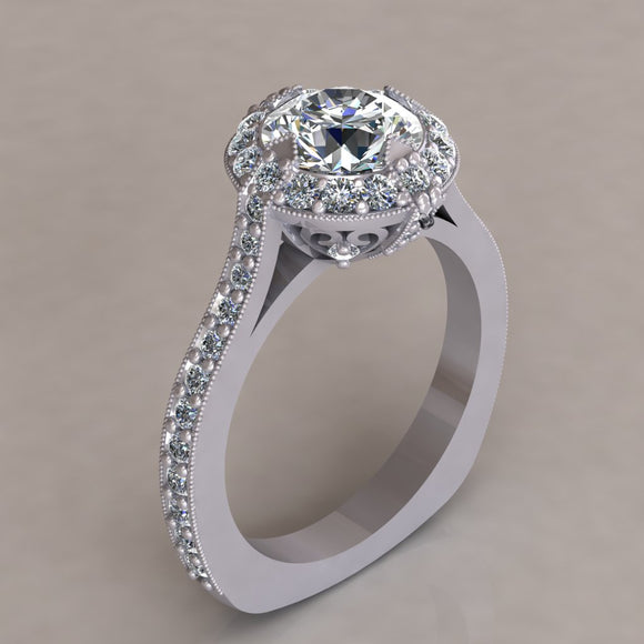 ENGAGEMENT RING - ANTIQUE 303