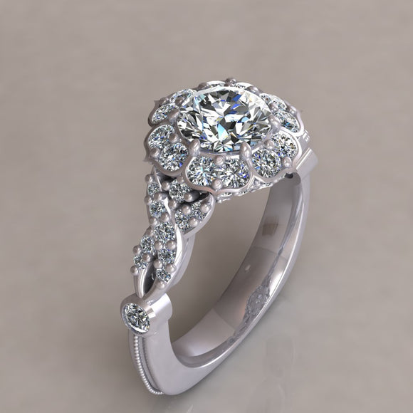 ENGAGEMENT RING - ANTIQUE 304
