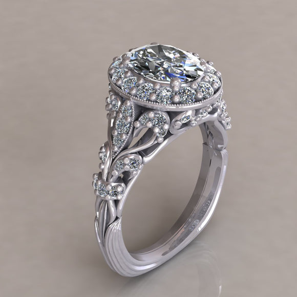 ENGAGEMENT RING - ANTIQUE 305
