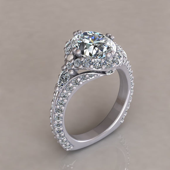 ENGAGEMENT RING - ANTIQUE 306