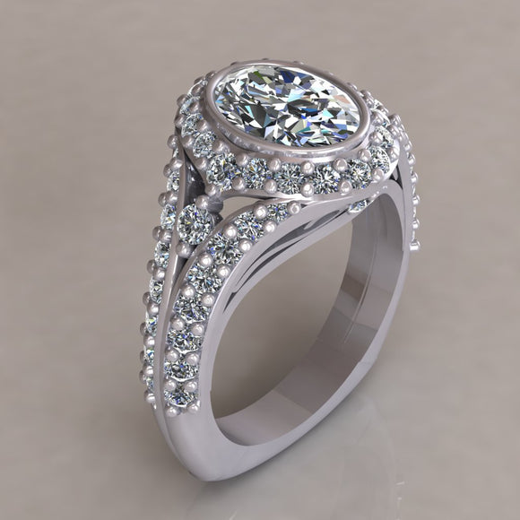 ENGAGEMENT RING - ANTIQUE 306B