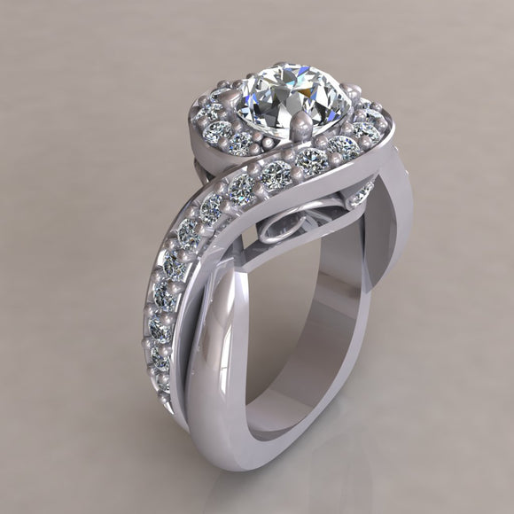 ENGAGEMENT RING - ANTIQUE 307