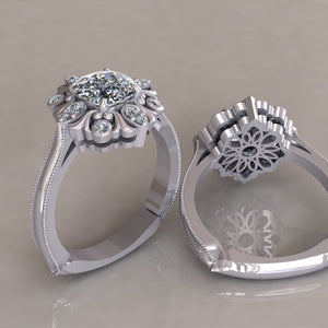 ENGAGEMENT RING - ANTIQUE 313