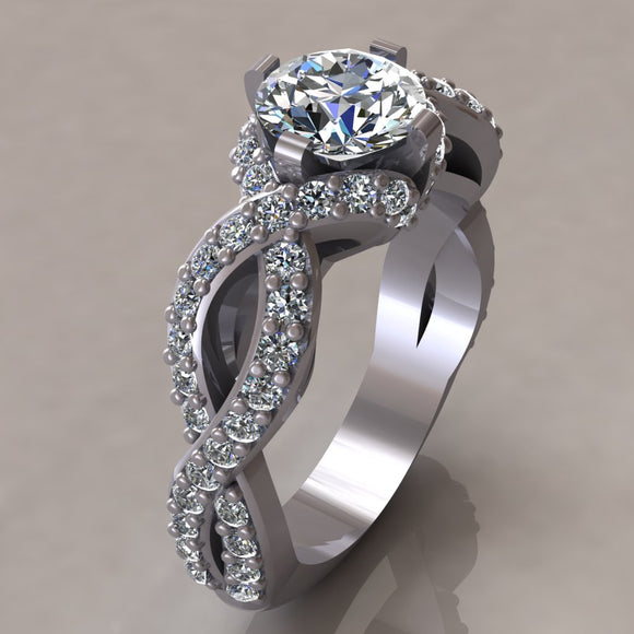 ENGAGEMENT RING - MODERN M111