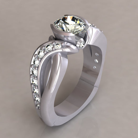 ENGAGEMENT RING - MODERN M112
