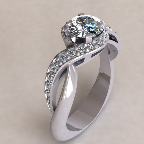 ENGAGEMENT RING - MODERN M114