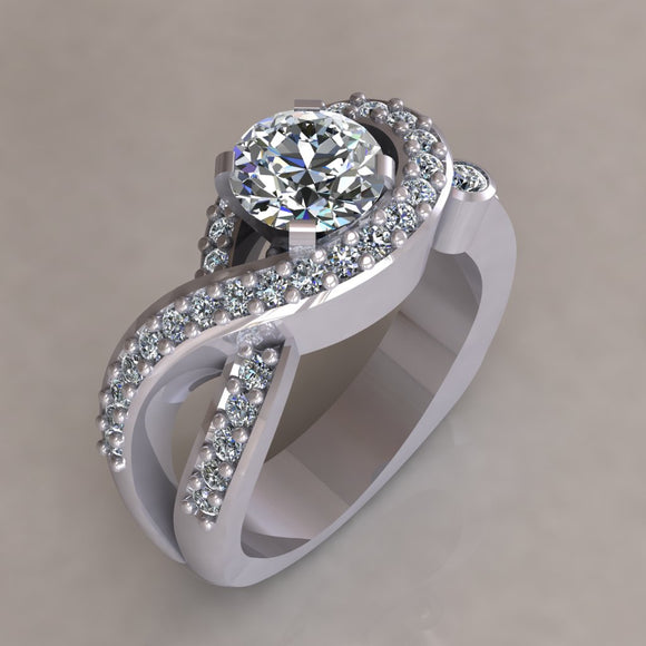 ENGAGEMENT RING - MODERN M115
