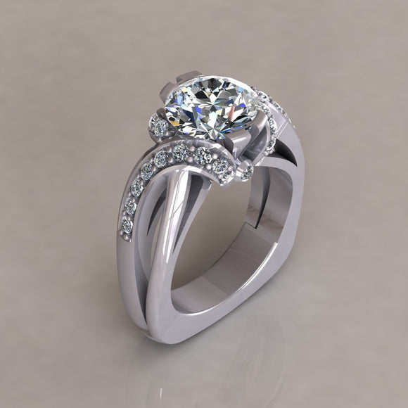 ENGAGEMENT RING - MODERN M116