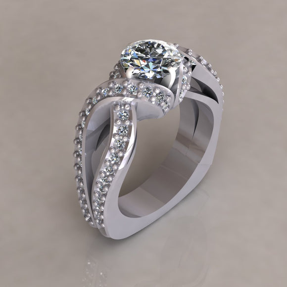 ENGAGEMENT RING - MODERN M117