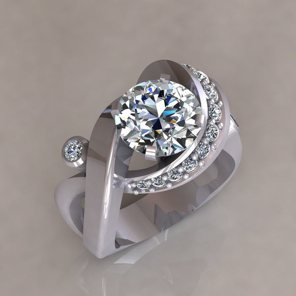 ENGAGEMENT RING - MODERN M118