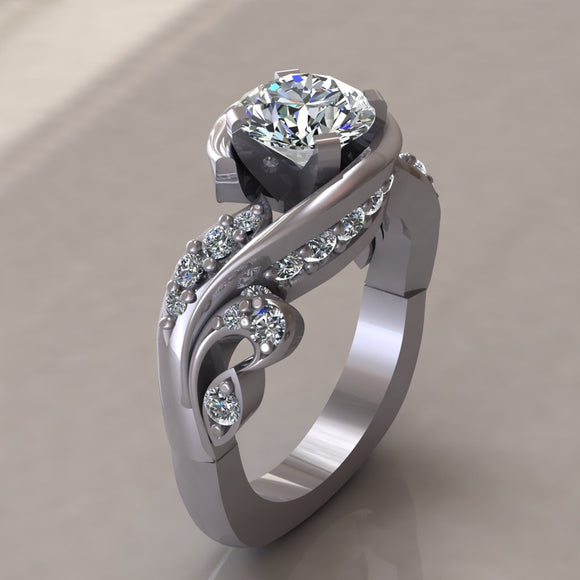 ENGAGEMENT RING - MODERN M119