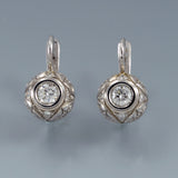 Diamond earrings antique 3