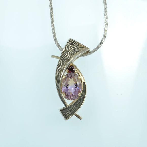 Copy of Ametrine pendant .