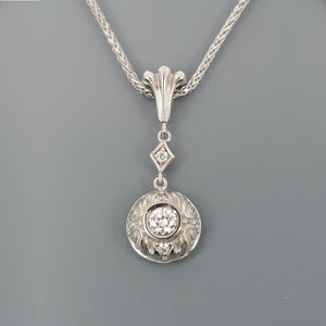 Diamond pendant 1