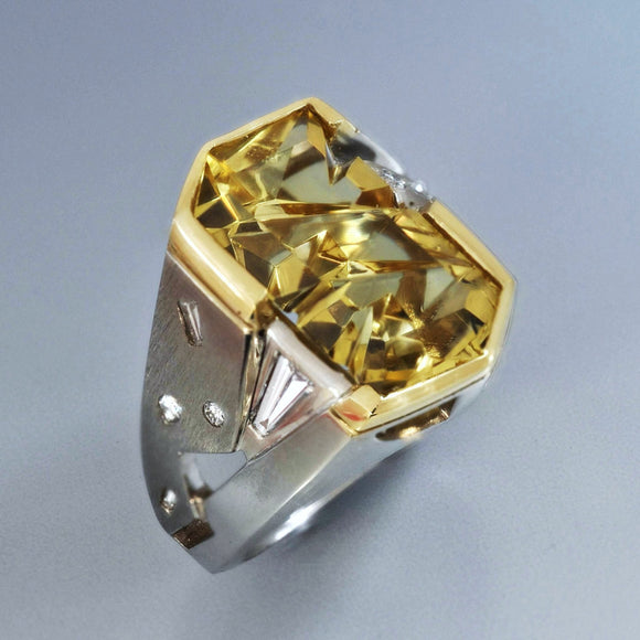 Golden Beryl ring 1