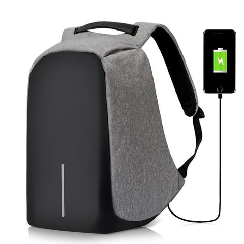 Anti-Theft USB Charging Multi-function Waterproof Backpack