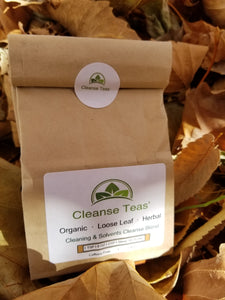 Anti-cleaning solvent's tea cleansing tea herbal tea organic herbal healing tea calendula chamomille bladderwrack borage herbal tea organic herbal