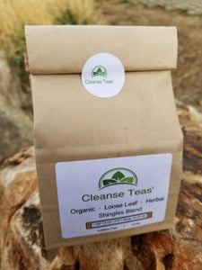 shingles healing blend tea organic herbal medical medium licorice root nettle leaf lobelia feverfew california poppy